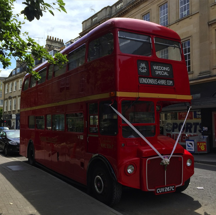 red-london-bus-wedding