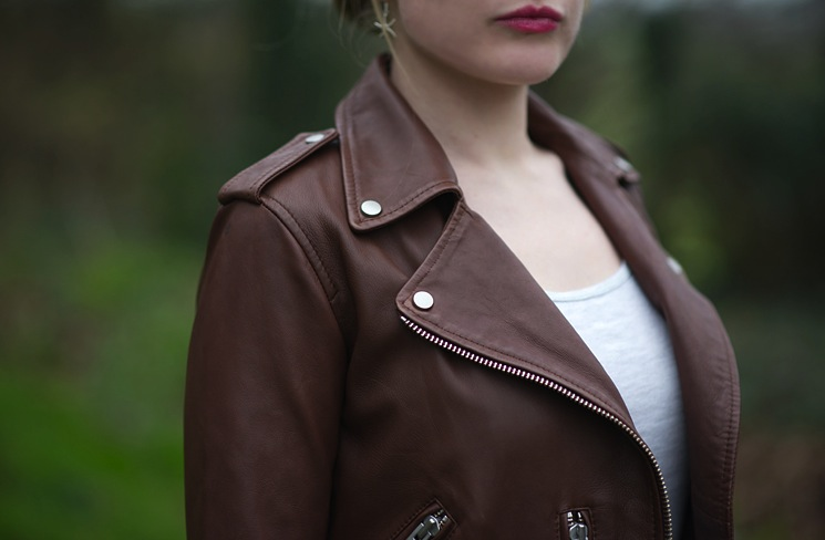 All Saints Balfern Sahara Leather Biker Jacket Review 3