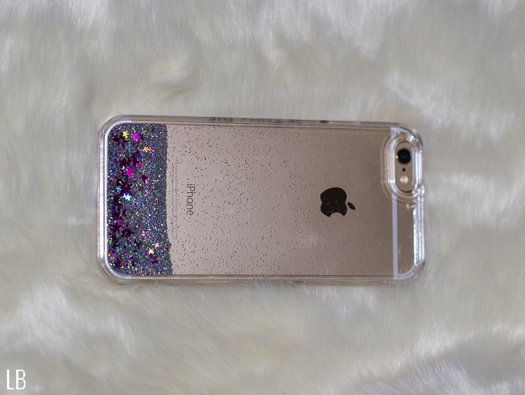 SkinnyDip London iPhone 6 Pink Liquid Glitter Case  965c7df5f1