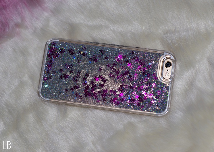 newest 0ffc9 ec0ec SkinnyDip London iPhone 6 Pink Liquid Glitter Case | Raindrops of ...