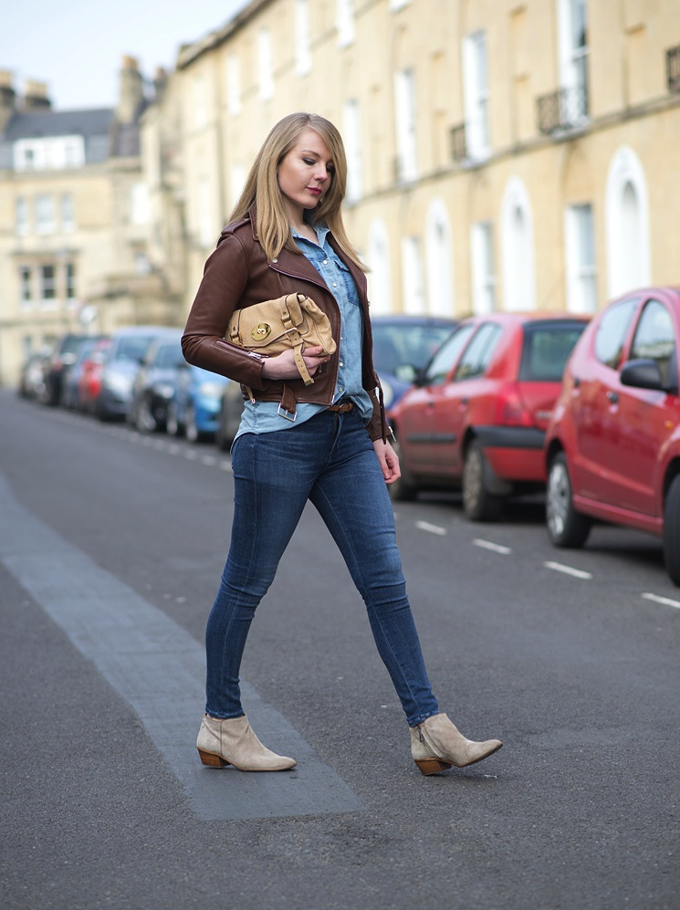 double-denim-street-style-blogger-leather