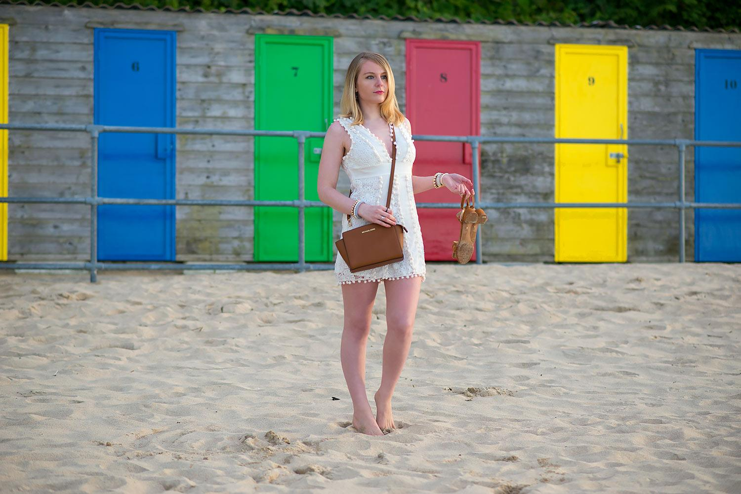 lorna burford beach st ives lace sexy dress