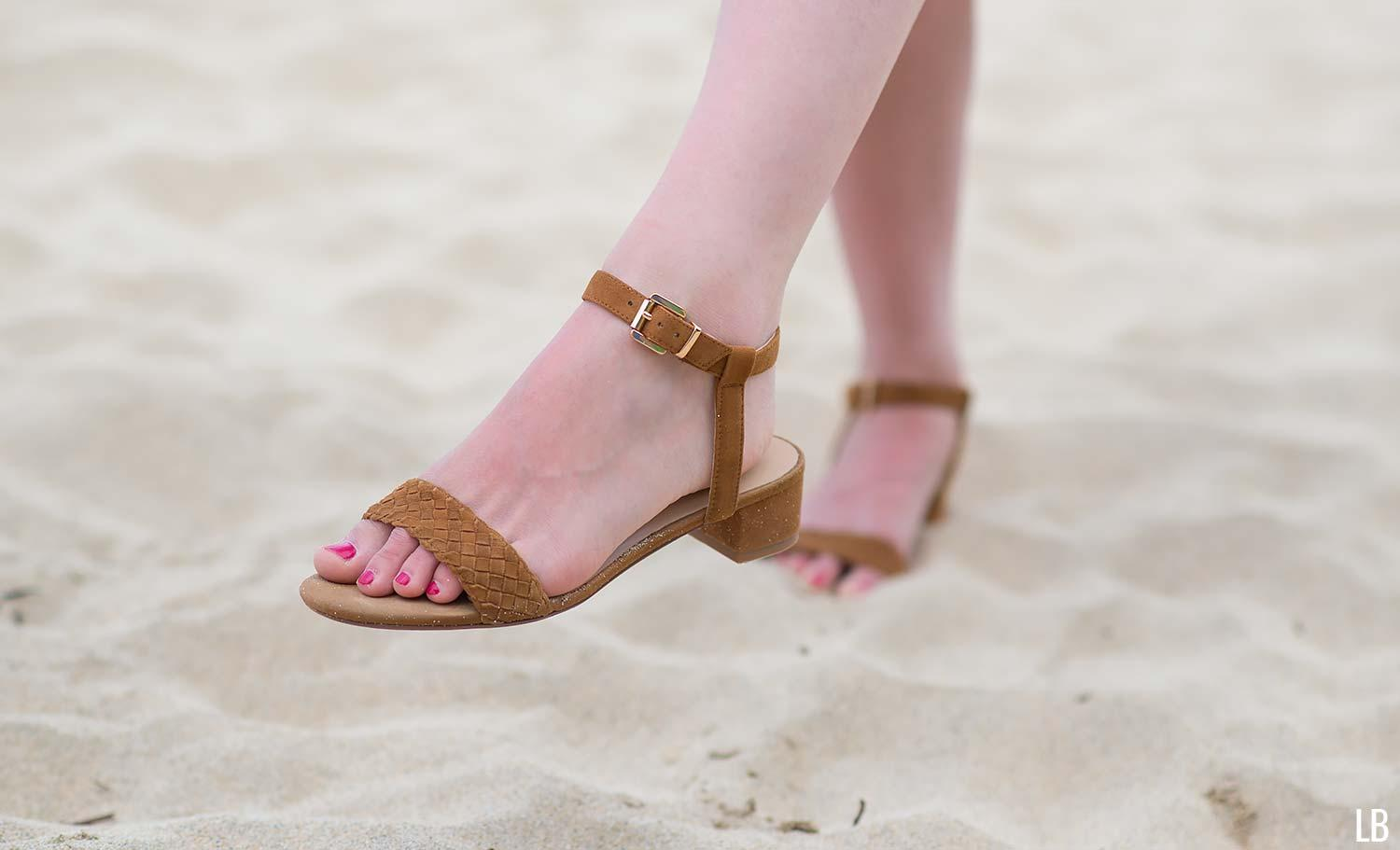 raye brown sandals