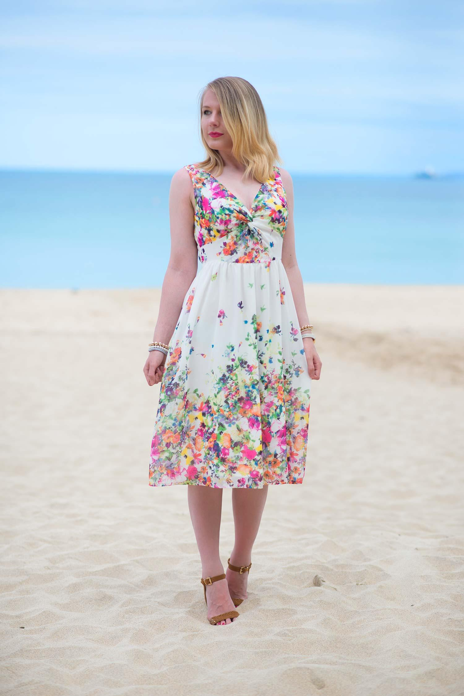 yumi floral dress st ives