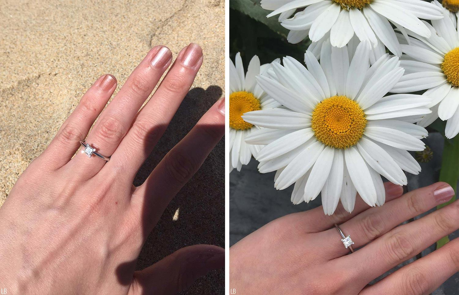 st ives travel diary lorna burford engagement ring