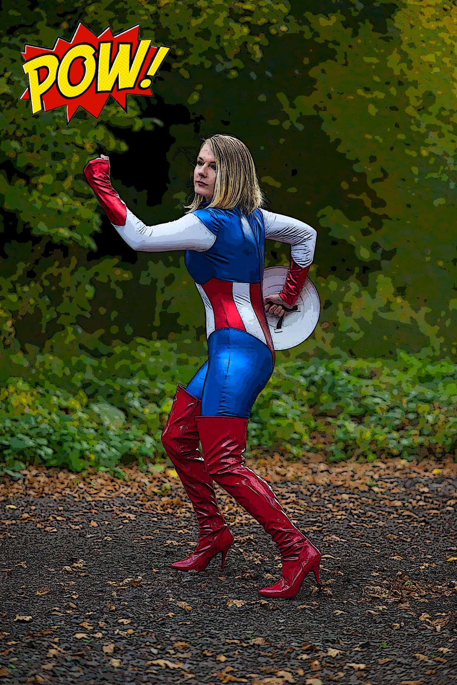 lorna-burford-captain-america-costume-comic