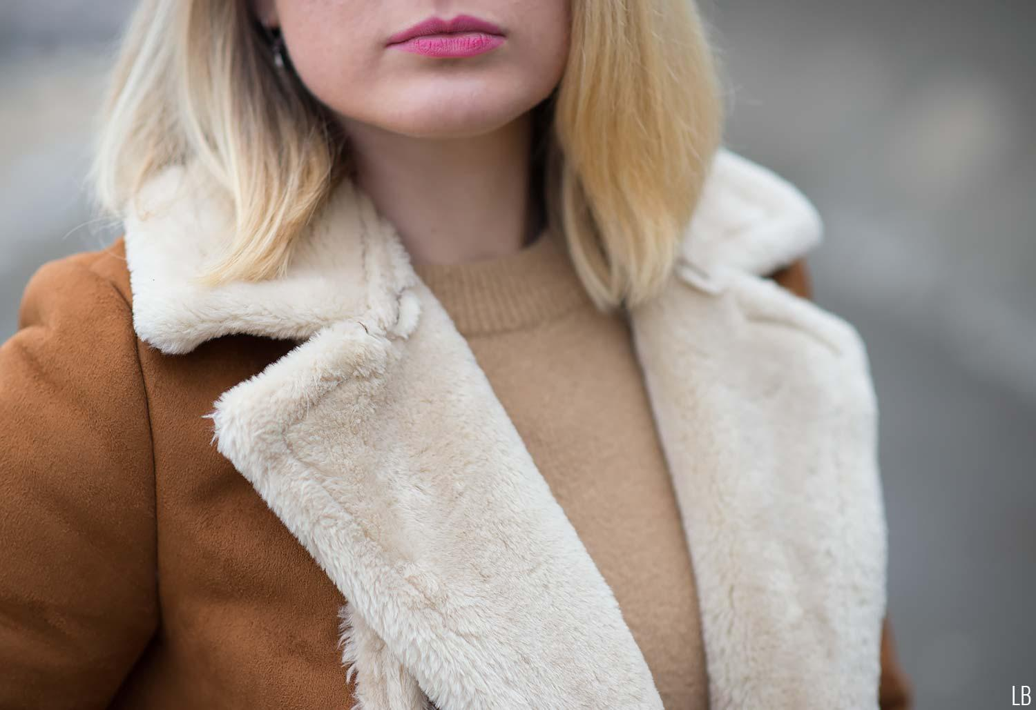 topshop-faux-fur-shearling-tan-coat-details