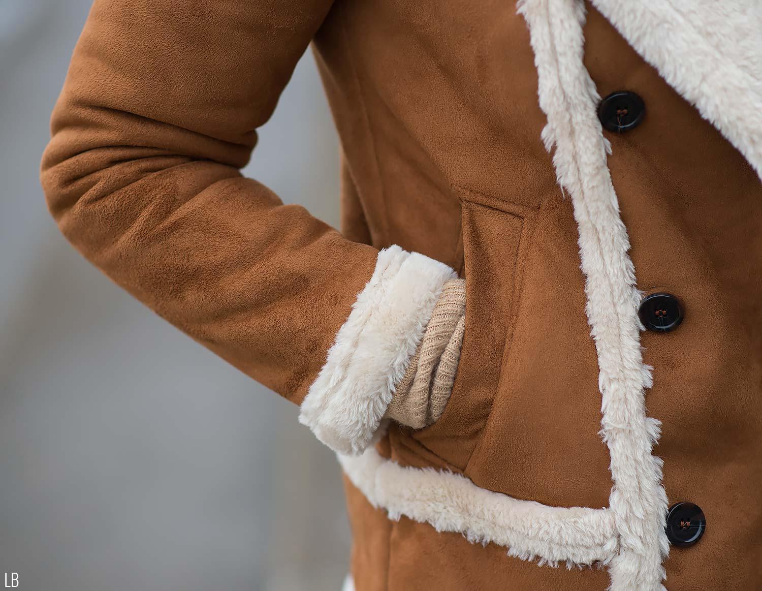 topshop-faux-fur-shearling-tan-coat-review