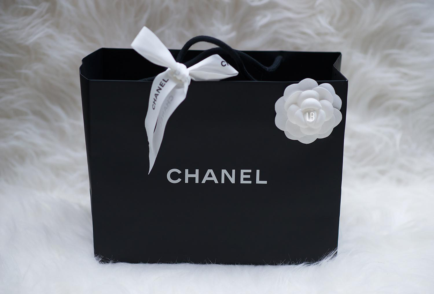 acec5c9482b8 My New Chanel Wallet On Chain 'WOC' Bag In Black | Raindrops of Sapphire