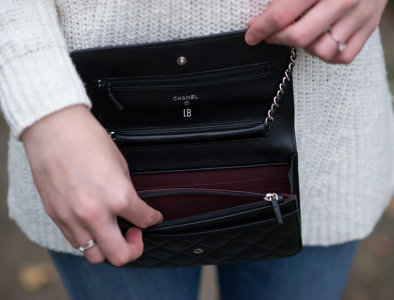 eb08d61c9902 My New Chanel Wallet On Chain 'WOC' Bag In Black | Raindrops of Sapphire