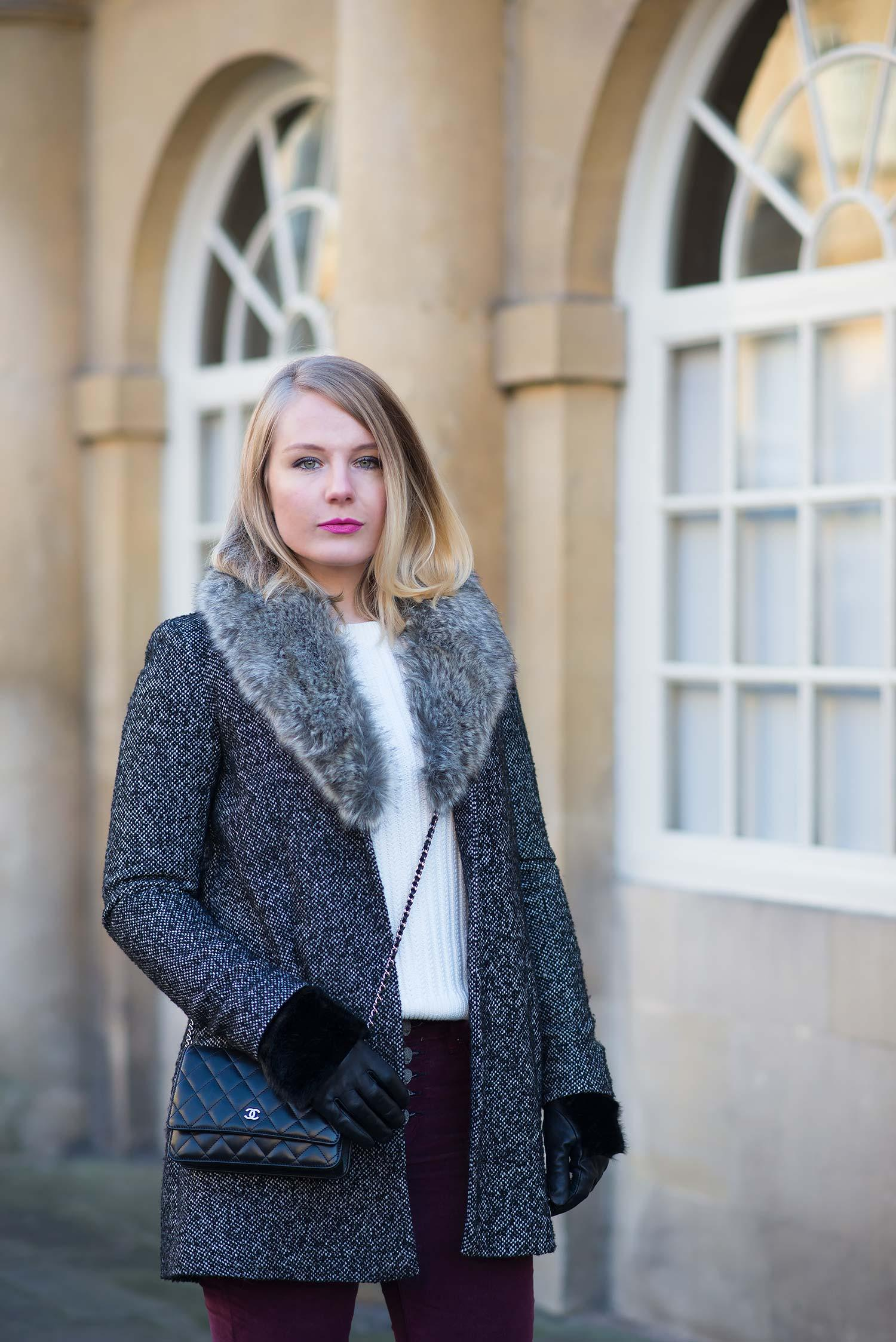 lornaraindrops uk fashion blogger faux fur