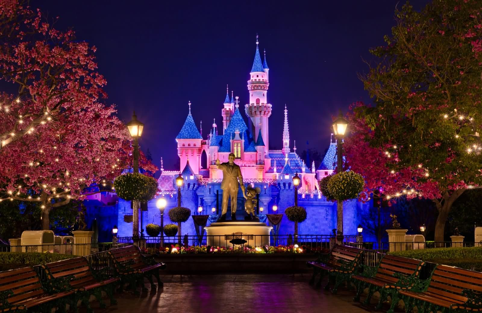 Disneyland-Paris-At-Night
