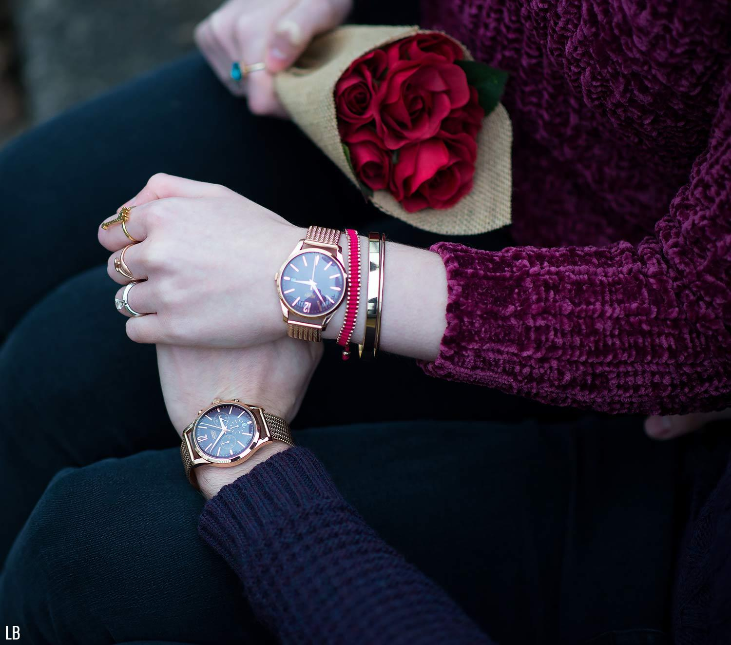 Valentine S Day Watches With Henry London Raindrops Of Sapphire
