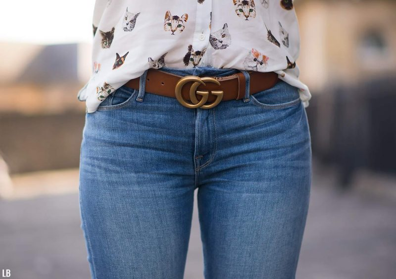 342717ccc My Gucci Double GG Tan Belt With Gold Buckle Review | Raindrops of Sapphire