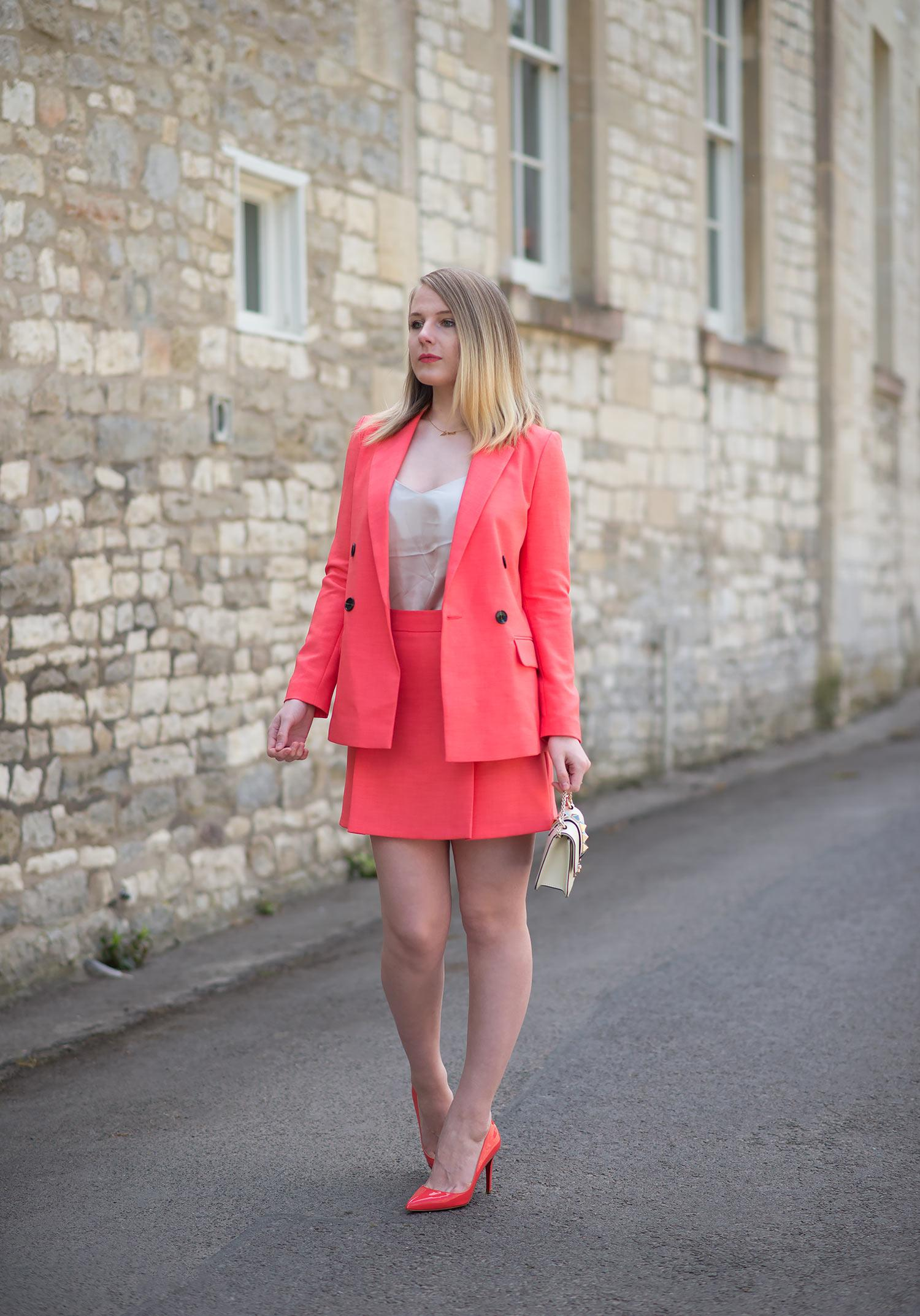 9a9f8b377c The Coral Skirt Suit
