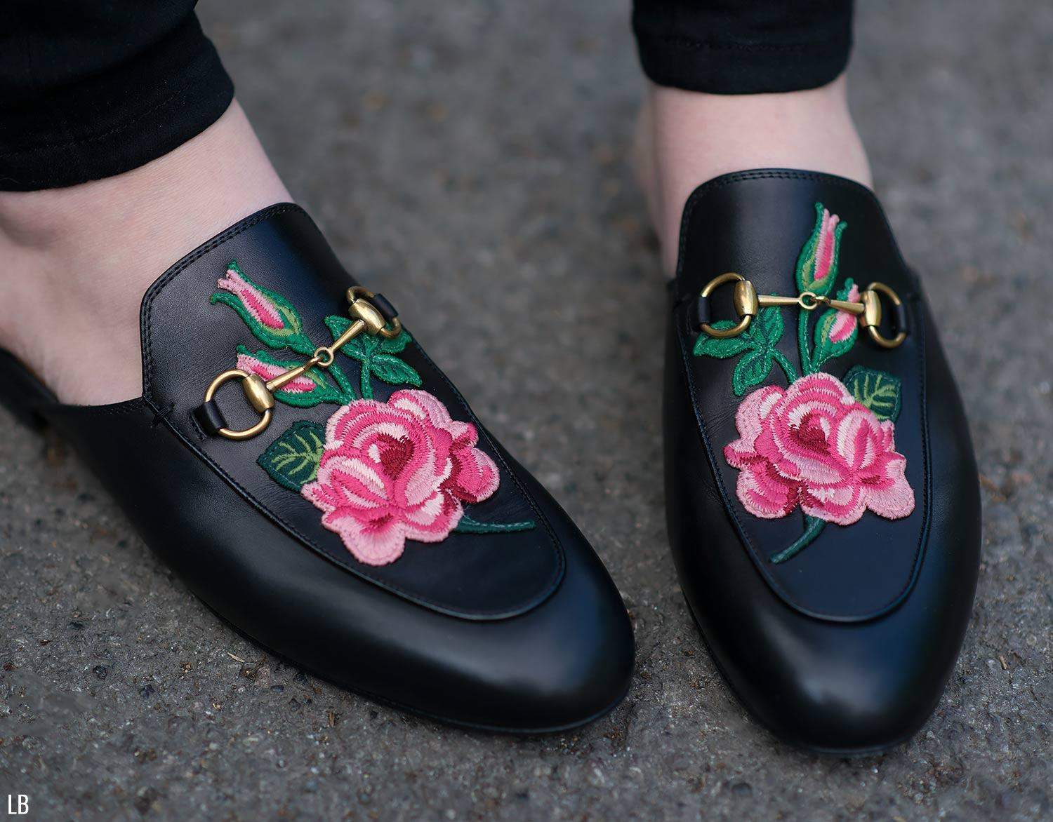 52babb1c561 My New Gucci Princetown Floral Embroidered Loafers Review ...