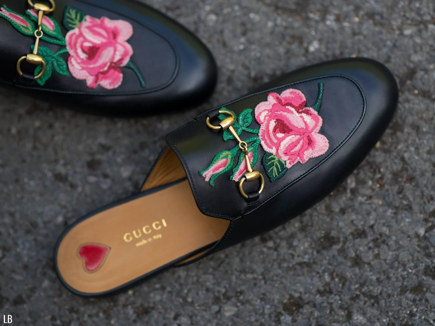 79349d8ce301 My New Gucci Princetown Floral Embroidered Loafers Review ...