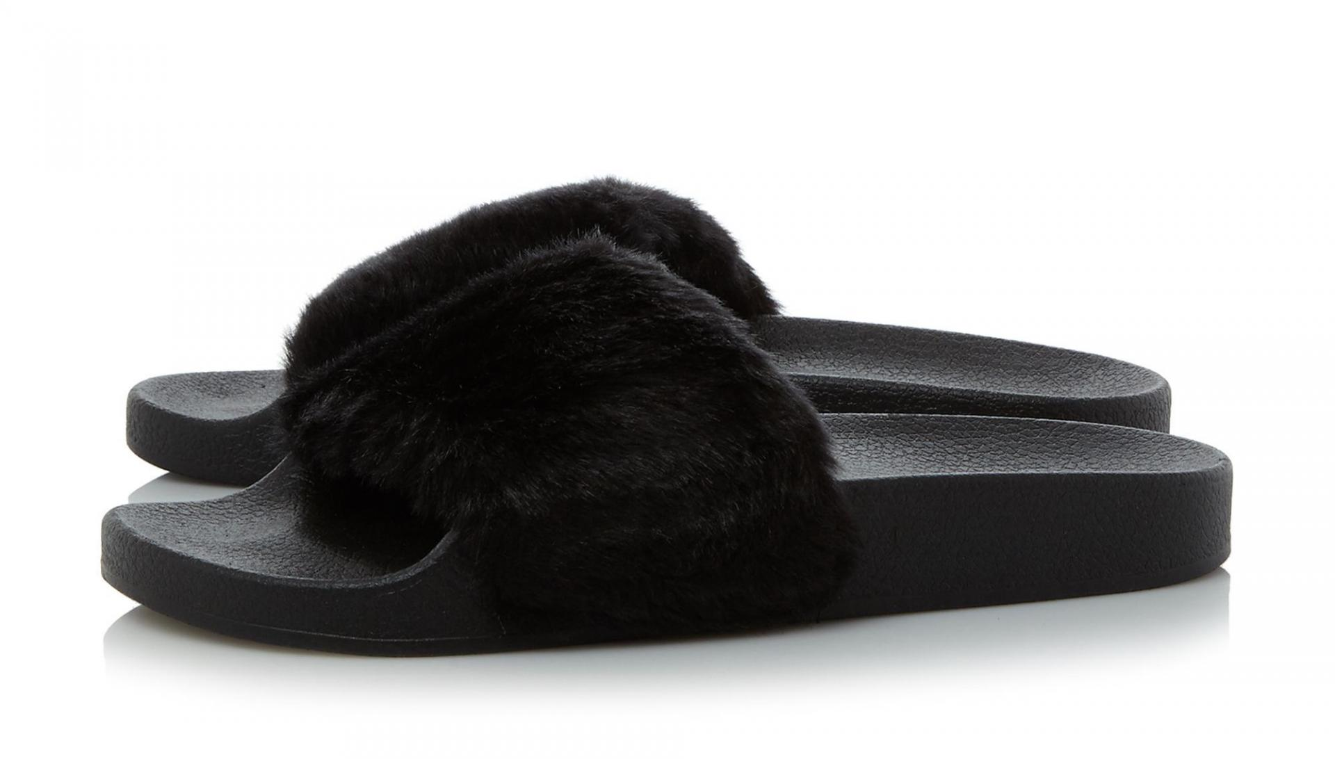 Furry Sliders Trend Review 12 Pairs Raindrops Of Sapphire
