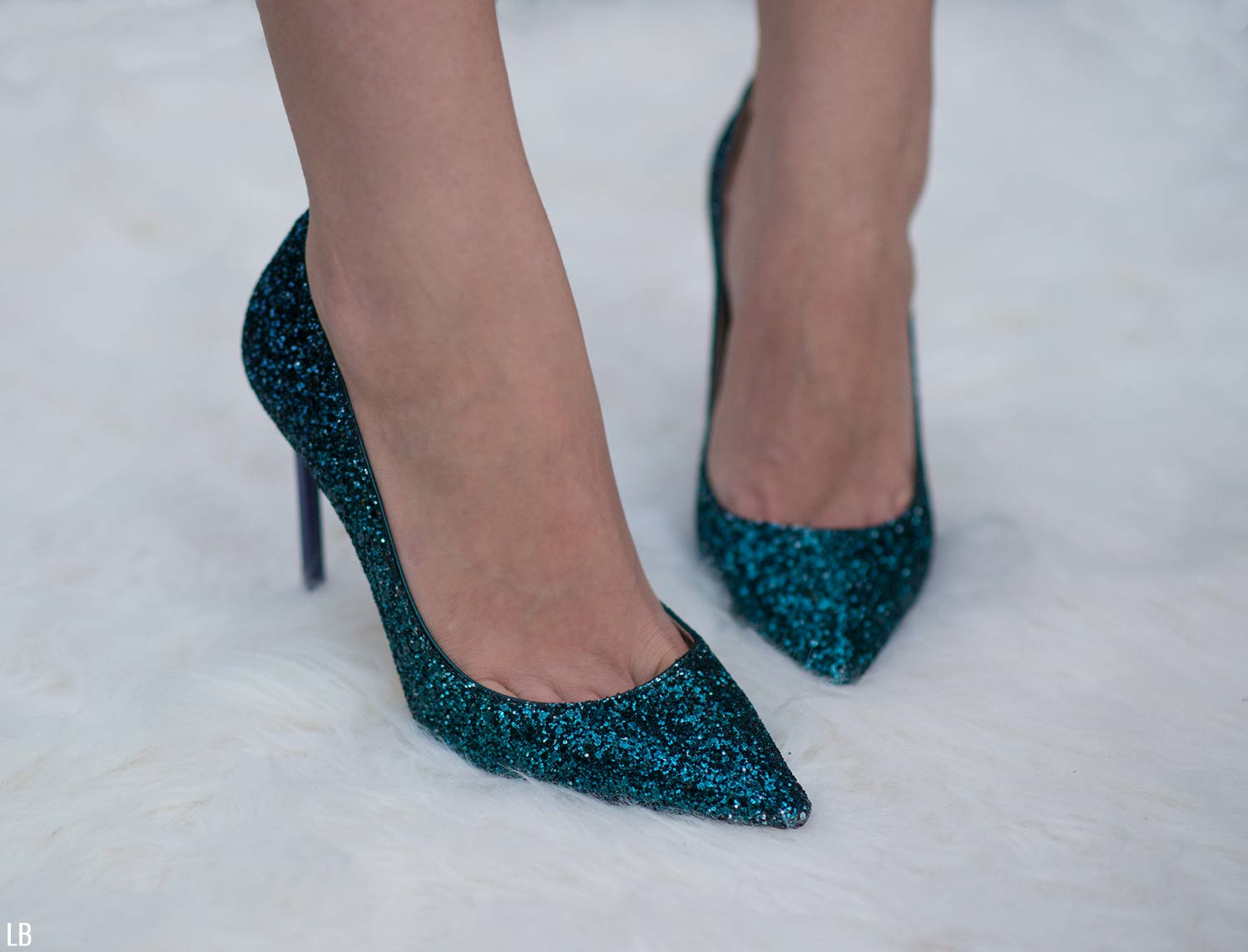 2c022c440c1 Jimmy Choo Romy 100 Glitter Shoes Review