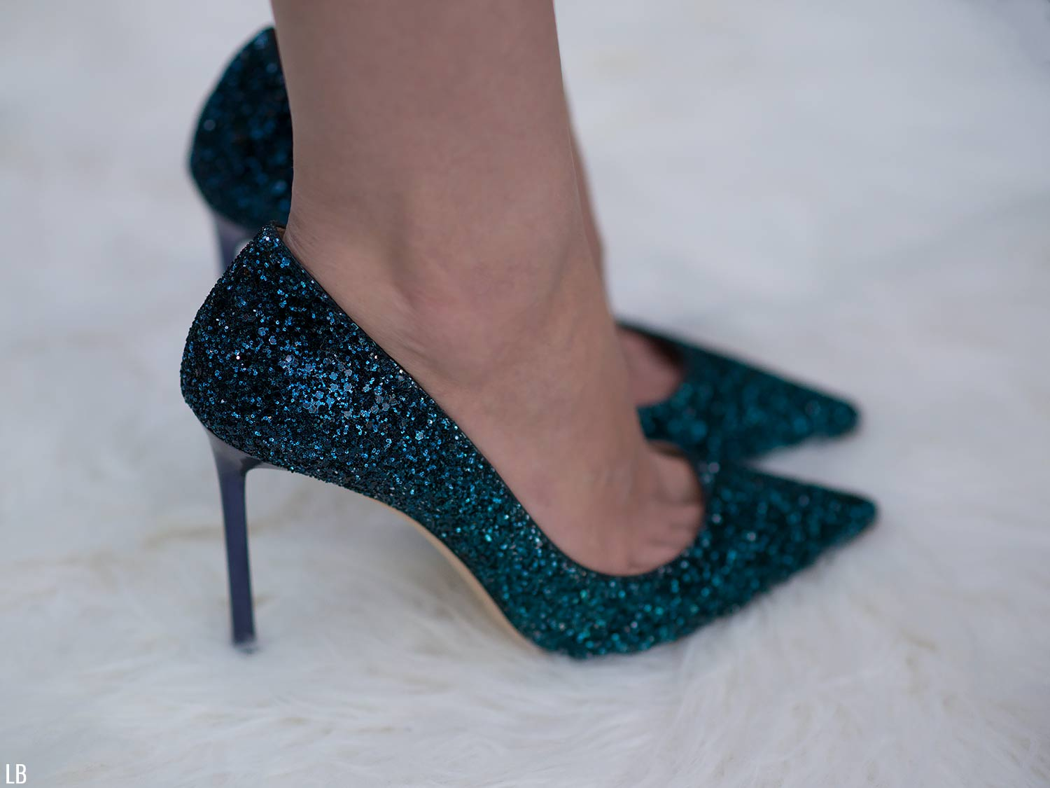 877eee47acc9 Jimmy Choo Romy 100 Glitter Shoes Review