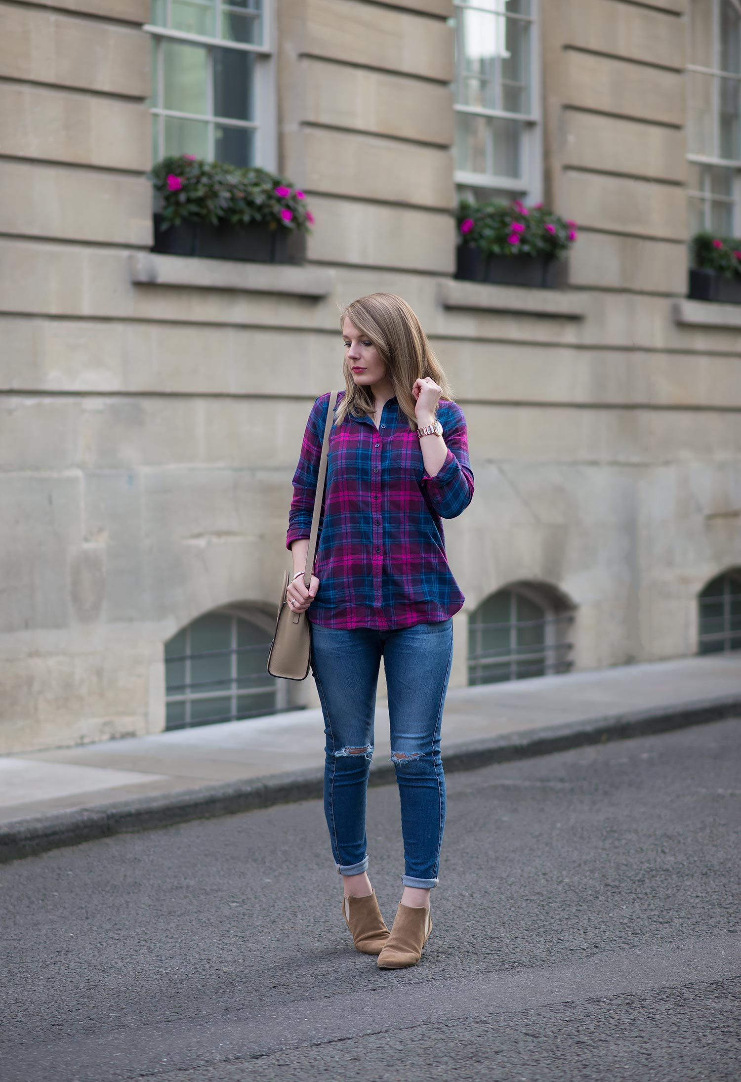 c5e379d02f1c A casual look for spring for me would be a plaid