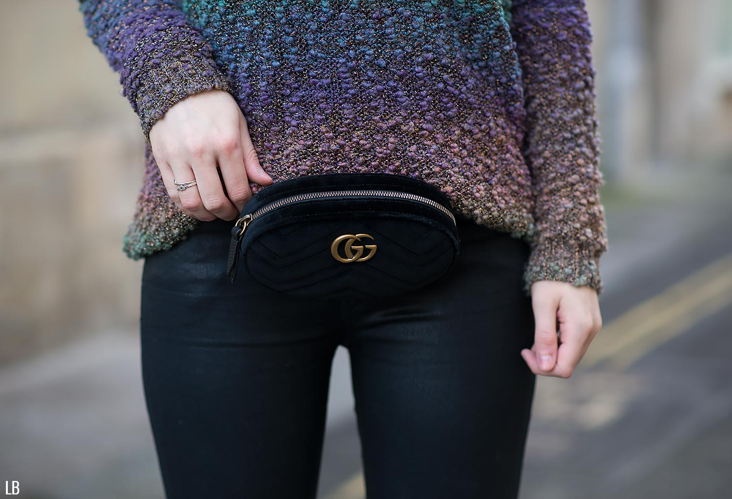 a537809fa294 Gucci Marmont Velvet Belt Bag Review | Raindrops of Sapphire