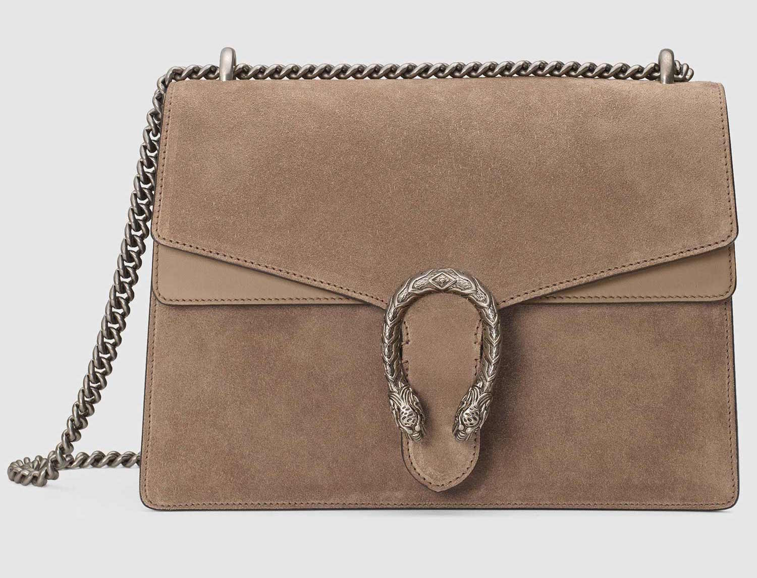 debde559067f GUCCI DIONYSUS TAUPE MEDIUM SHOULDER BAG