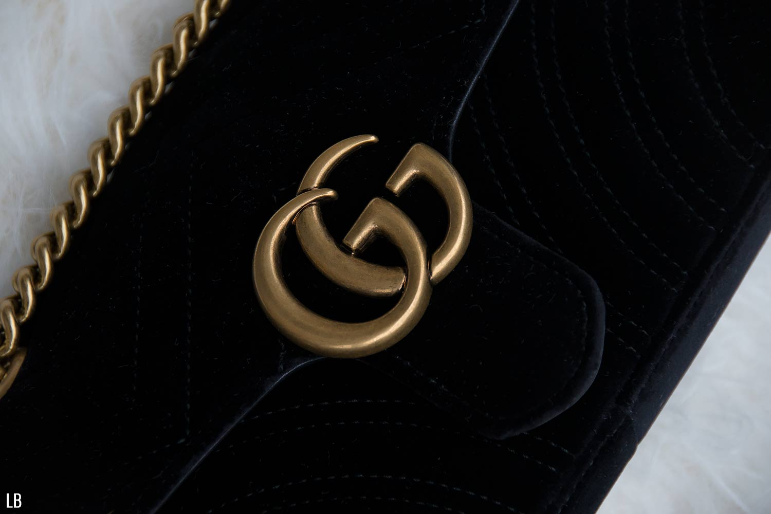 fb7d95fee4f Gucci GG Marmont Velvet Mini Bag Review