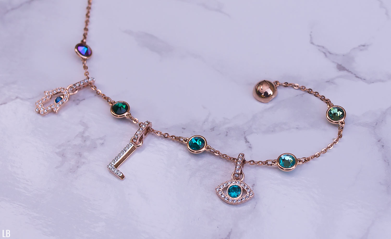 Swarovski Remix Collection Review | Raindrops of Sapphire