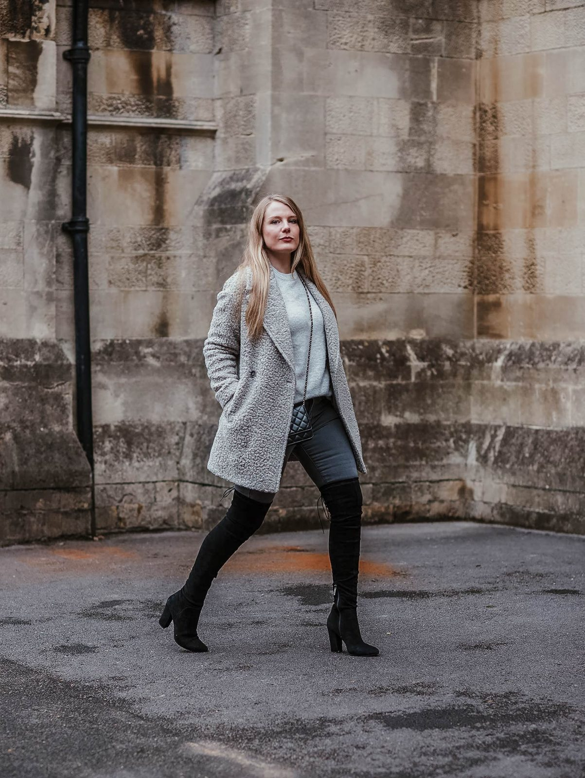 The Scarlet Teddy Coat With Boots