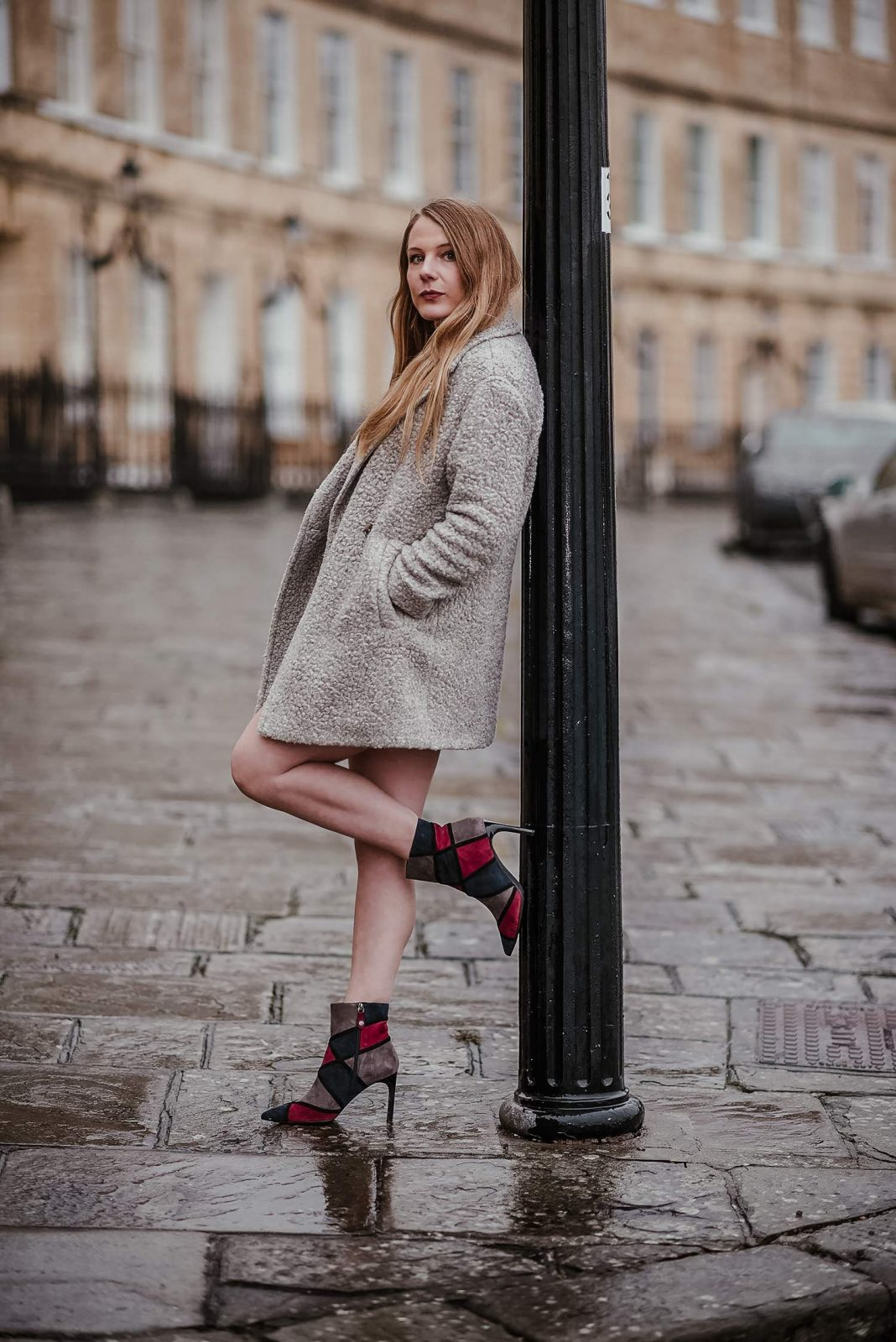 The Faviola Geometric Boots Outfit