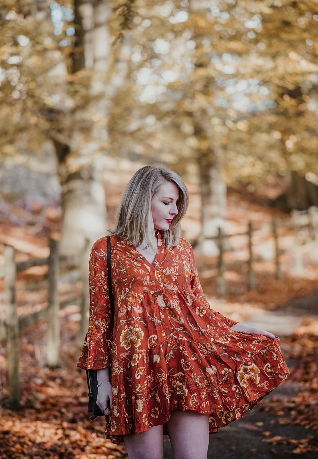 How To Style A Smock Tunic Dress For Autumn